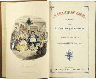 A Christmas Carol, Charles Dickens, Christmassy books