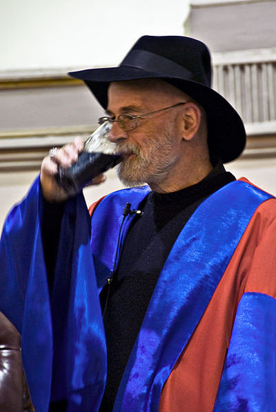 Terry Pratchett, Sir Terry Pratchett, fantasy author