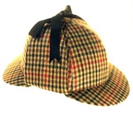 detective hat, sherlock holmes